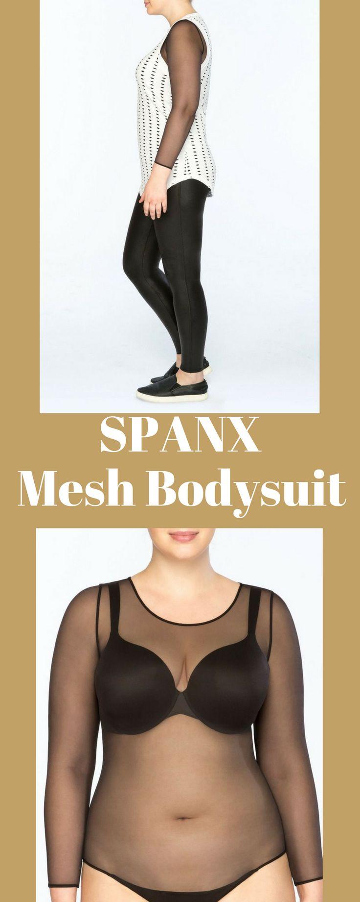 SPANX bodysuit makes me happy when i wear it! #afflink