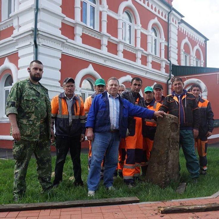 Коллекция Одинцовского Краеведческого музея пополнилась новым артефактом. Из лесного массива Новой Трехгорки привезен заброшенный межевой знак 1909 года