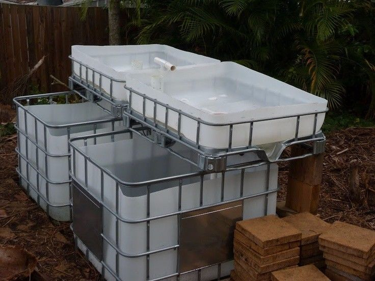 i have 2 x 1000l IBC Containers already cut2 x 250l container cut in half and steel stand for it to mount on1 x 45 w water pump1 x Koi Pond Filter and UV Light Combo - Includes Bio Balls300  Tilapia fish various sizesAnd all pipes and bell siphons includedI will load pic as soon as i have taken them.