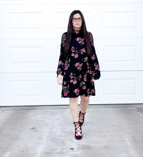 I don't normally wear floral dresses, but turns out I LOVE this one!  #ShopStyle #MyShopStyle #ssCollective #ootd #mylook #lookoftheday #currentlywearing #wearitloveit #getthelook #todaysdetails #shopthelook