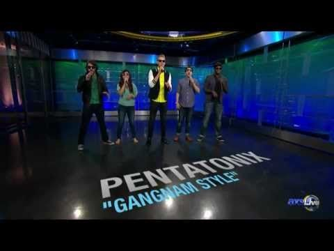 Pentatonix goes Gangnam Style LIVE on AXS TV - YouTube