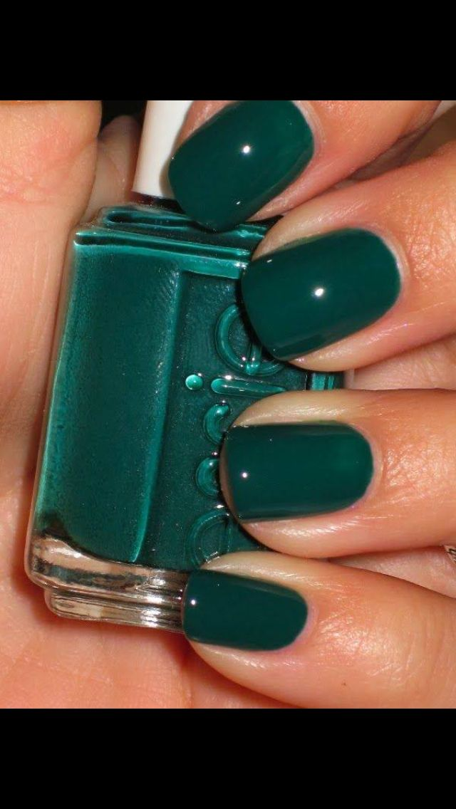 15 Best Nail Polishes For Dark Skin Beauties Nail Design Essie Nail Polish Green Nails