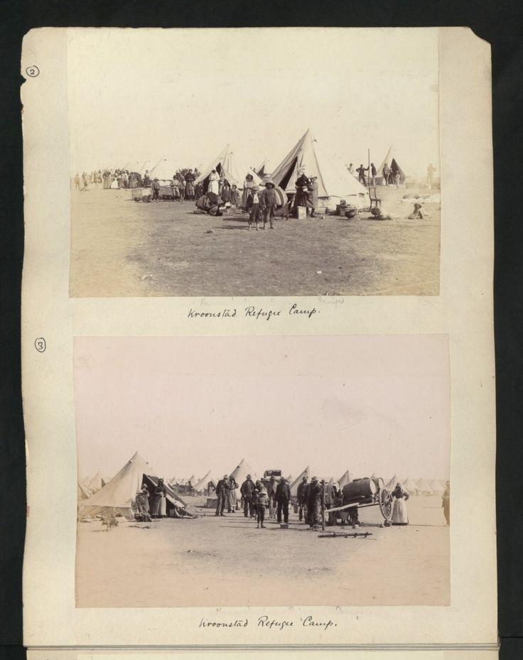Kroonstad Refugee Camp.