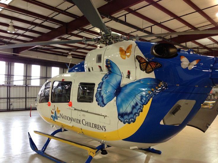 Nationwide Children's Hospital's EC145 One day I'll be in ...