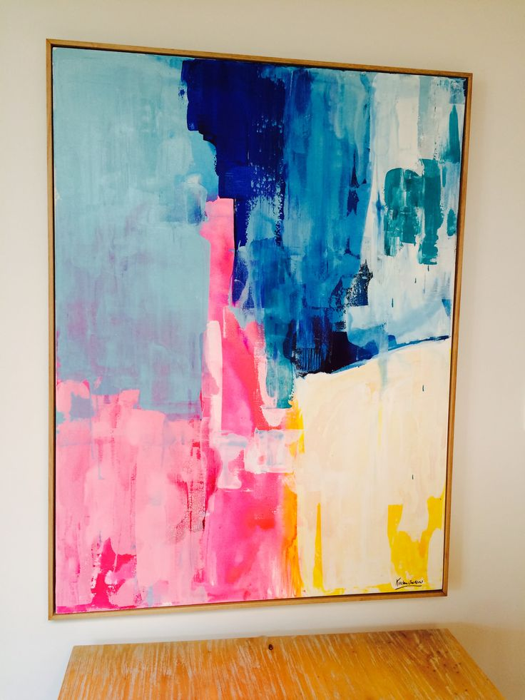 25 best ideas about bright abstract art on pinterest With best brand of paint for kitchen cabinets with create your own 5 piece canvas wall art