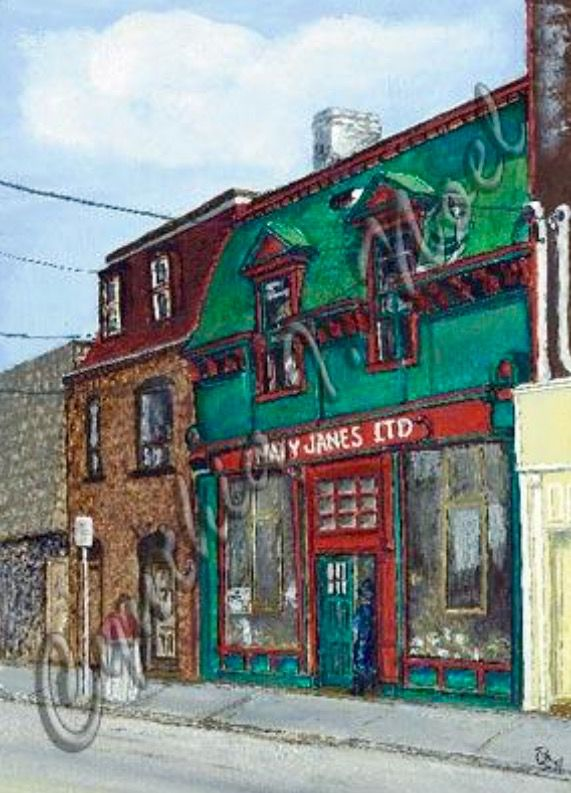 Mary Janes - Duckworth Street, St. John's, NL (SOLD)