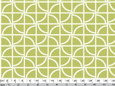 Cross - green organic cotton fabric by Copenhagen Print Factory $4.75 #organicfabric #copenhagenprintfactory