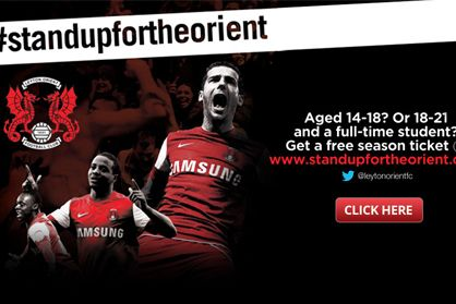 If you are a student aged 14-18 or 18-21 years old then grab a free Season Tickets for Leyton Orient FC.