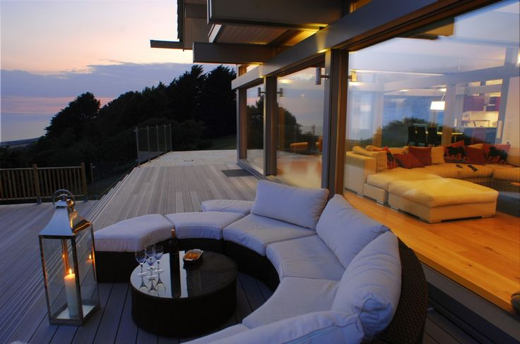 Luxury Self Catering Holiday House in Dorset, Luxury Selfcatering Huf Haus in Dorset