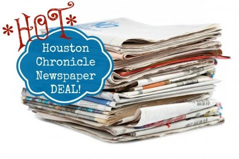 Houston Chronicle Deal for $1 per paper! Get a $30 Gift Card + $10 Bonus for Referrals! - Price Match at Walmart, Coupon at Walmart, Save Money at Walmart If you sign up, make sure you put my name down! Jennifer Jameson!!! :)