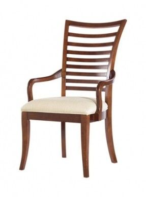 Stanley Close Outs  Slat Back Arm Chair