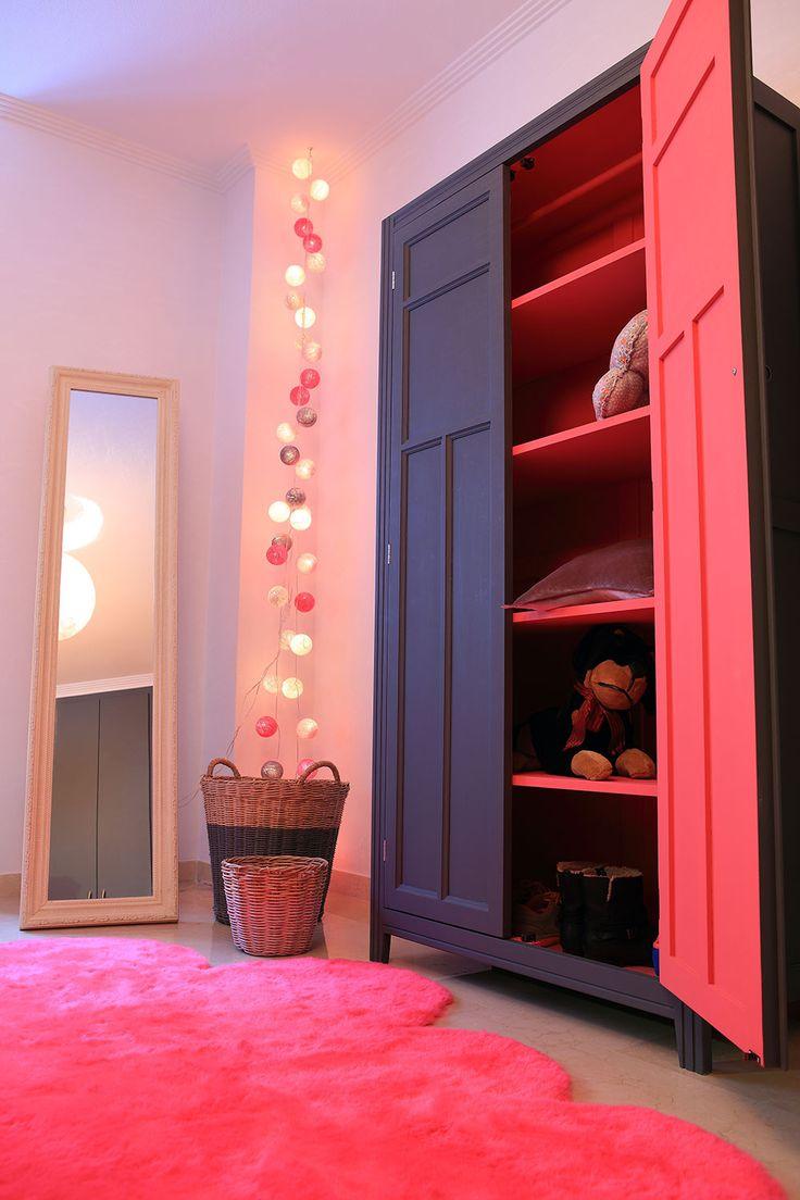 armario retro de Laurette en habitación de www.cyckids.com