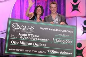 CONGRATULATIONS Jason & Jennifer... another $1,000,000 Bonus! Get BIGGER CHECKS & Get Listed for FREE at http://MLMGods.com
