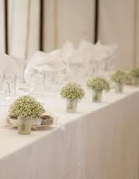 gypsophila wedding centrepieces - Google Search