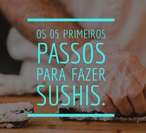 Curso de Sushi Gratuito