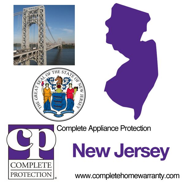 New Jersey Home Warranty - Complete Appliance Protection - Best Home Warranty Reviews - Call 1-800-978-2022 - New Jersey Home Warranty