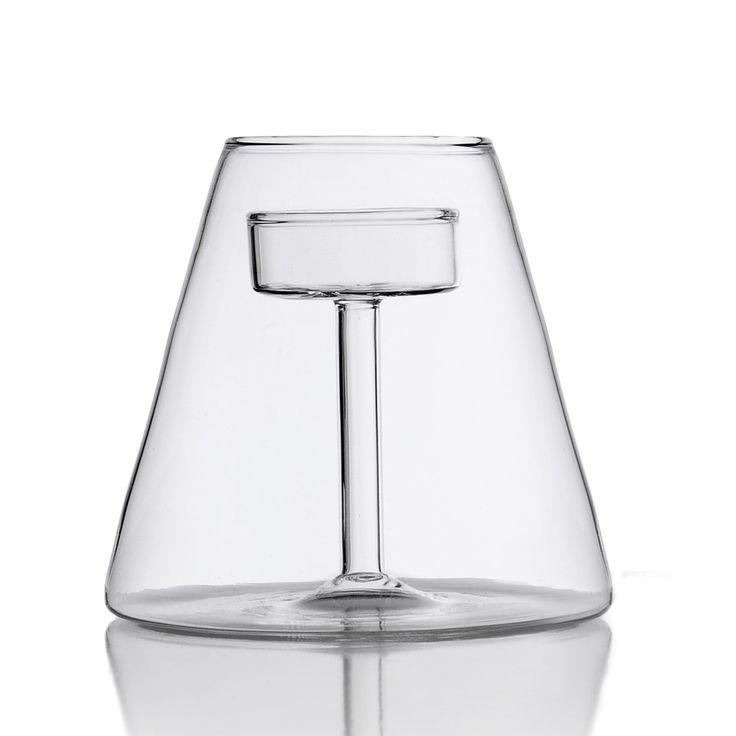 Ichendorf - Szklany świecznik Abajour