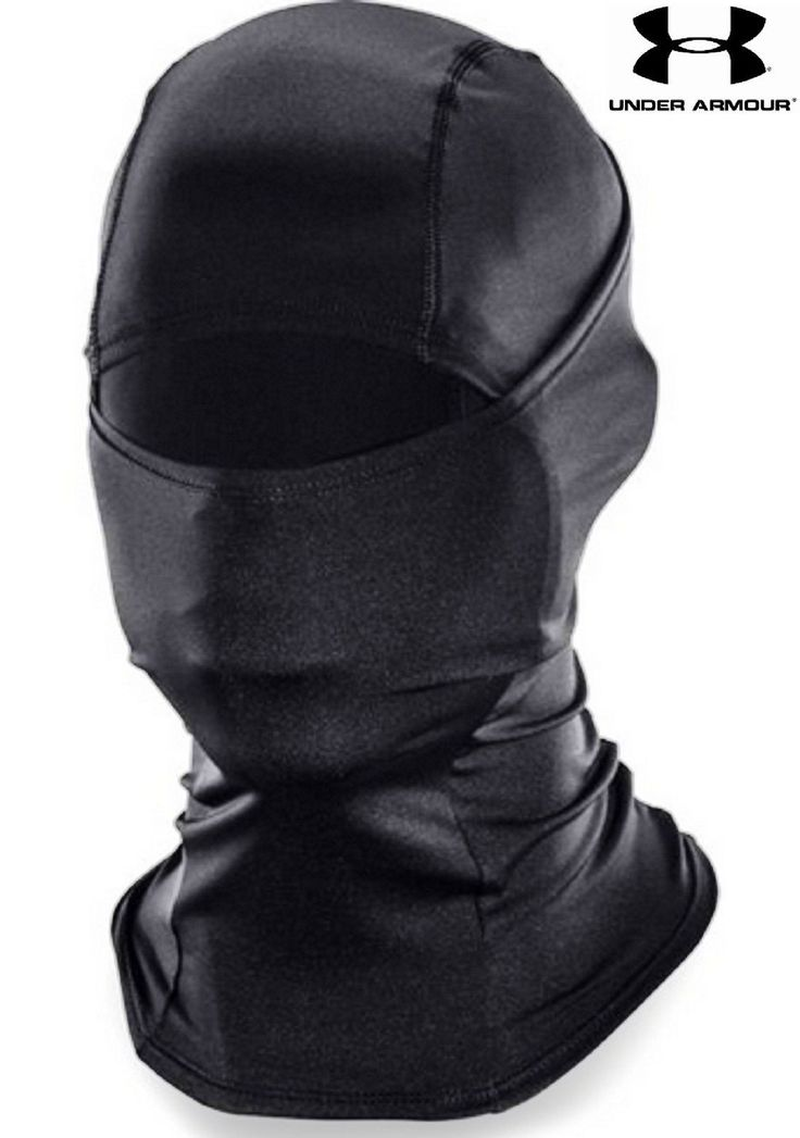 Under Armour Tactical HeatGear Facemask Hood - Lightweight Balaclava Style Mask