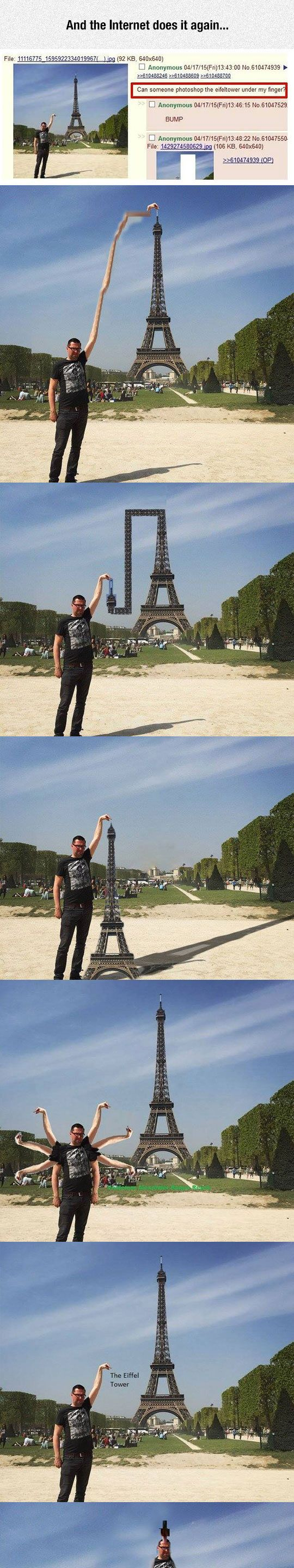 funny eiffel tower pics | funny-Eiffel-Tower-tourist-Photoshop