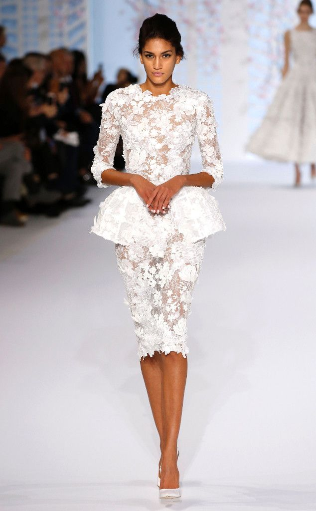 """Take me to City Hall""  Ralph & Russo from Paris Fashion Week Haute Couture 