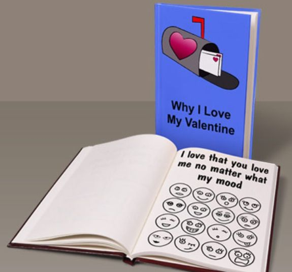 make your own valentine's day photo album