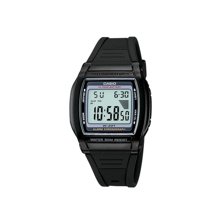 Women's Casio Digital Sport Watch - Black (LW201-1AV)