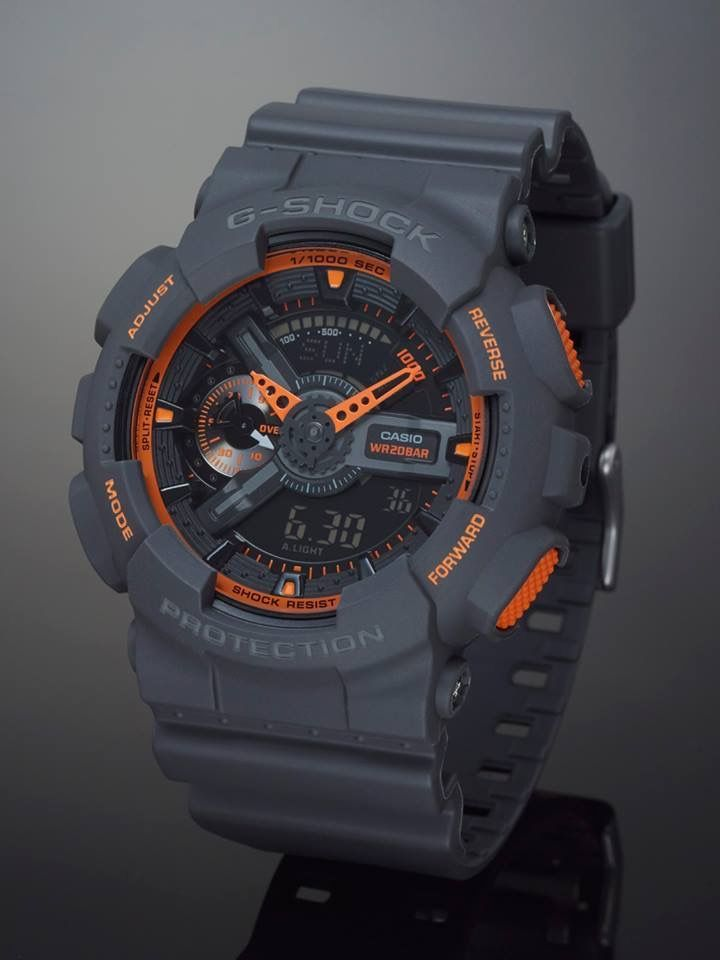 Case G Shock In Bright Neon Orange Contrasting Colorships Out Within 3 Days