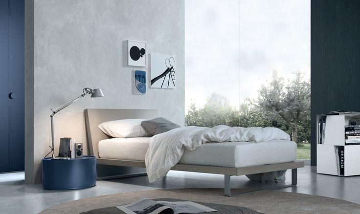 Jesse - Mobili Arredamento Design - Letti - AVRIL YOUNG