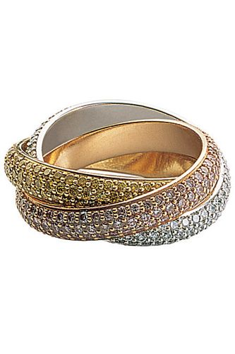 Cartier Trinity ring, $31,400, available at Cartier, 2 East 52nd Street (at 5th Avenue); 212-446-3400.