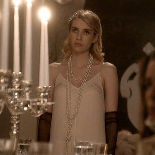 """This """"I don't know if it's a night gown but I'm going to wear it to dinner anyway"""" outfit. 