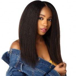 Sensationnel Human Hair Curls Kinks & CO Textured Clip In Extension – HH 1C CLIQUE 9PCS (16-20 Inch)