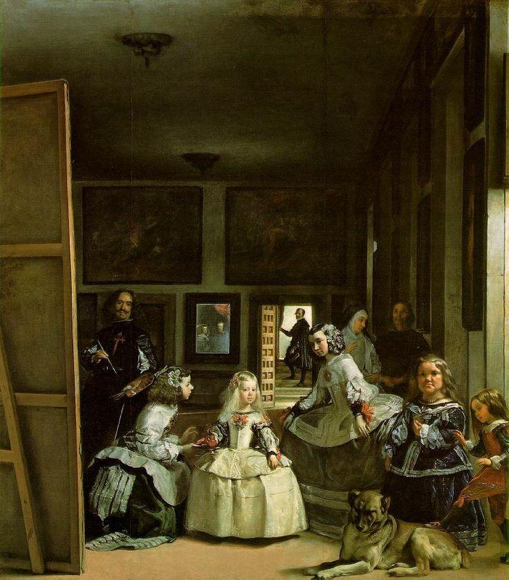 """Diego Velasquez, """"Las Meninas"""". 1656"""