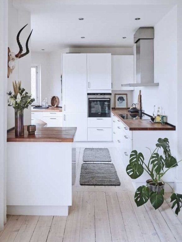 Keeping The Kitchen As Small As Possible Means That You Will Have More Room For Other Sp In 2020 Kitchen Remodel Small Farmhouse Kitchen Design Farmhouse Style Kitchen Living room and kitchen means