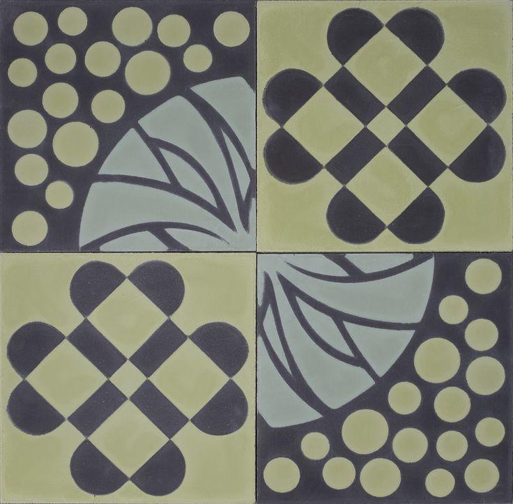 Purpura tiles: HAVANA & CLOVER