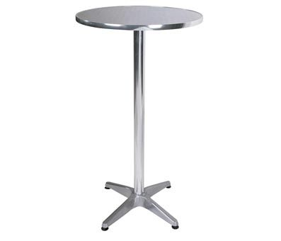 Tall Breakfast Poseur Tables, Exhibition Tall Tables, Glass, Wood, Fixed  Height Bar Tables   Adjustable Height