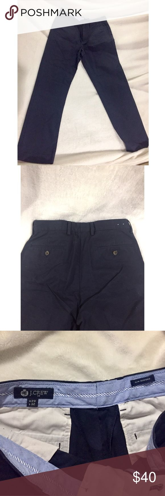 Navy Blue Men's J. Crew Chino Pants Very good quality and condition. They just don't fit. Men's Chinos. Slim.  OFFERS WELCOME J. Crew Pants Chinos & Khakis