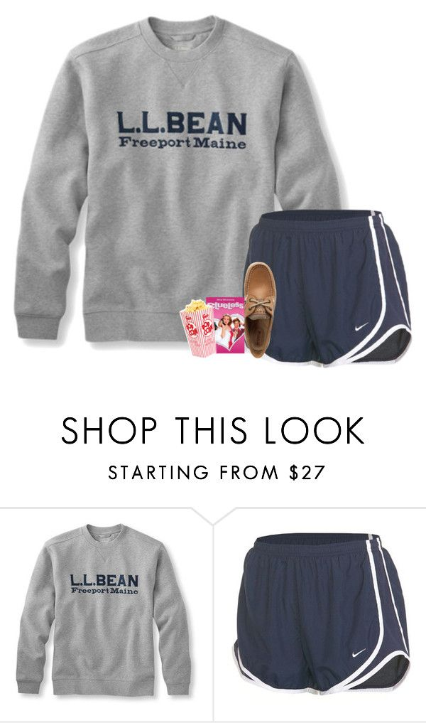 """""""{just finished watching clueless}"""" by preppy-southern-girl-1-2-3 ❤ liked on Polyvore featuring NIKE and Sperry"""