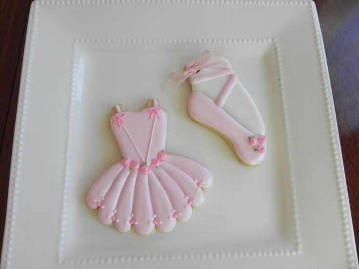Ballerina Cookies - Ballerina Cookies for a Baby Shower                                                                                                                                                      More
