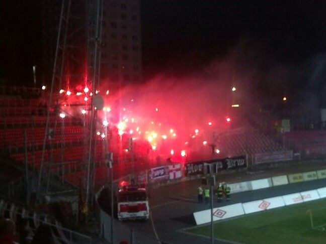 Ultras Brno-pyro is not a crime!
