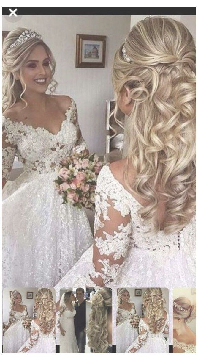 Wedding Hairstyles For Long Hair With Tiara 30 Most Amazing Wedding Hairstyles Bride Hairstyles With Veil Wedding Hair Half Wedding Hairstyles With Veil