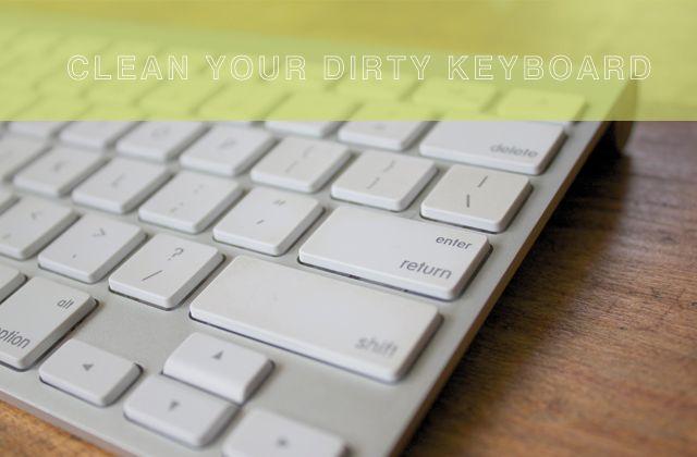 [dandee]: How To Clean A Mac Keyboard.