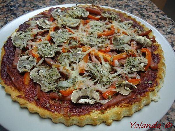 Mi Diario Dukan (Dukangirl): Pizza con masa de queso (Fio) *Especial Pizza Dukan