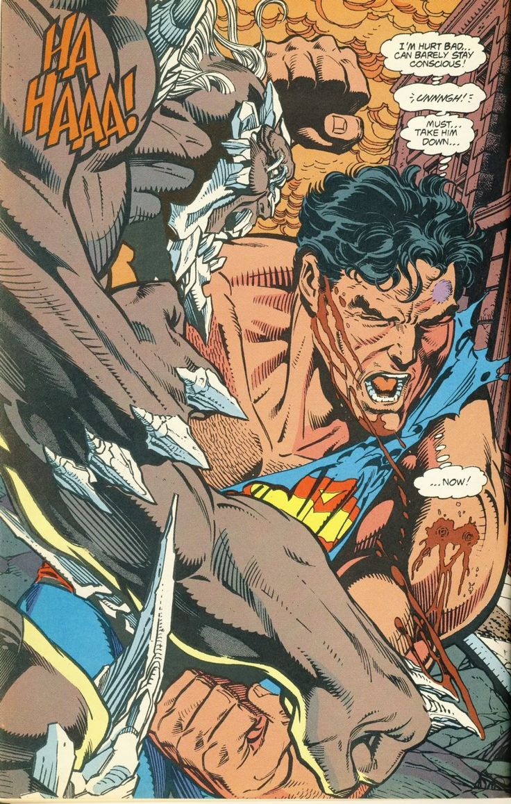 scans_daily | Death Week: The death of Superman.