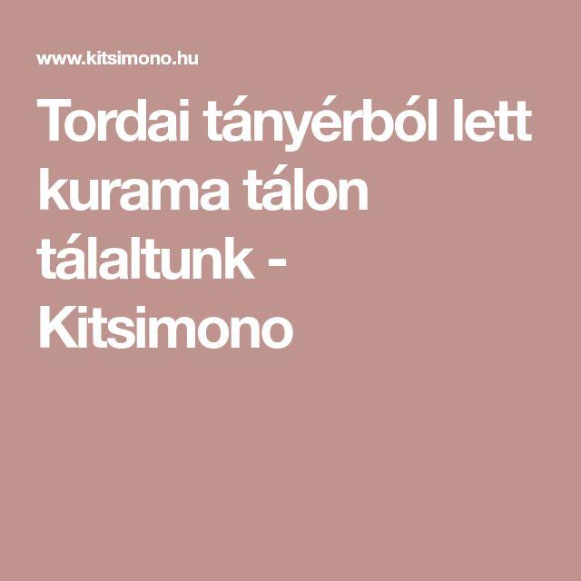 Tordai tányérból lett kurama tálon tálaltunk - Kitsimono