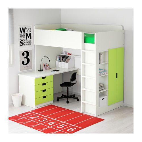 IKEA STUVA loft bed combo w 4 drawers/2 doors