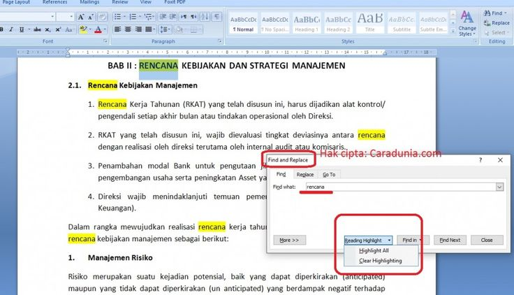 Cara Membuat Find And Replace & 4 Tips Cara Replace Di Word