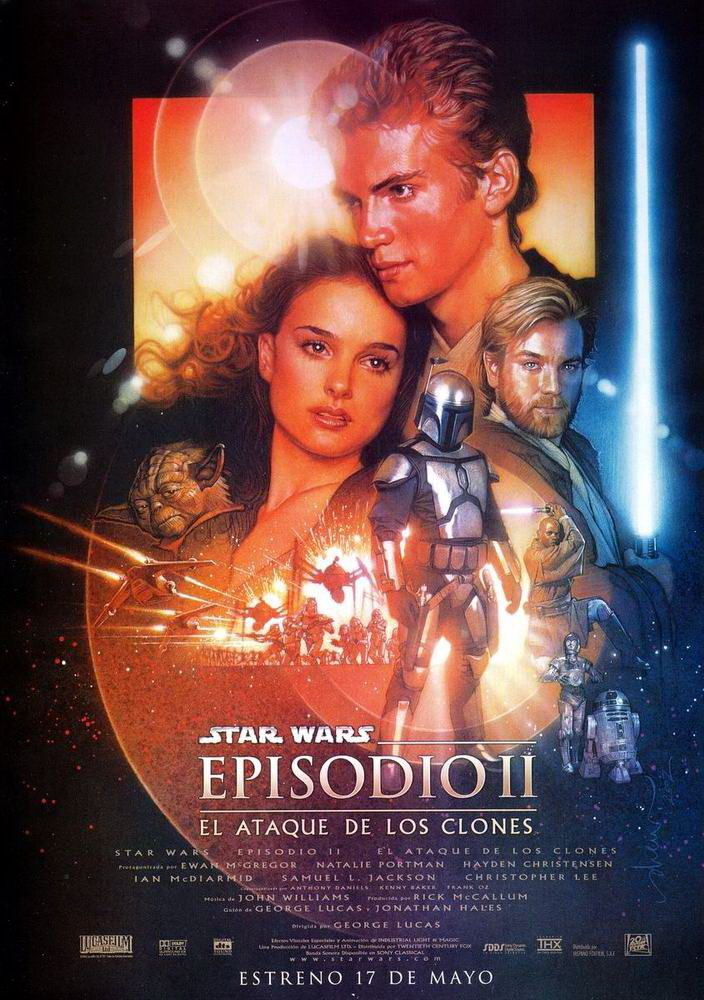 Star Wars. Episodio II El ataque de los clones - Star Wars. Episode II Attack of the Clones