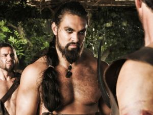 Khal Drogo (Jason Momoa)...yummy