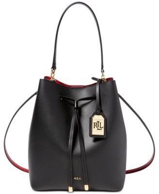 Lauren Ralph Lauren Dryden Debby Drawstring Bag | macys.com