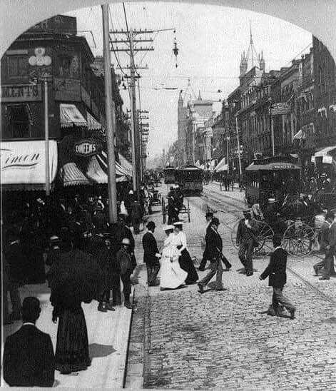 Queen St.,  1901